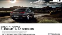 2012 BMW 6-Series Gran Coupe media campaign 19.12.2011