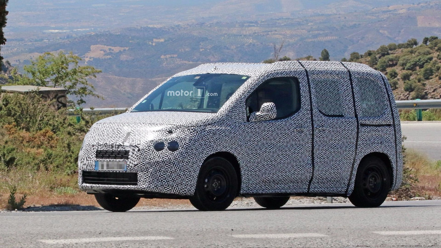 Citroen Berlingo Spied With Production Body