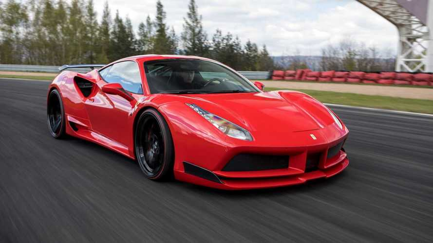 Ferrari 488 GTB, Spider Given Widebody Treatment By Novitec