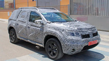 2018 Dacia Duster new spy images