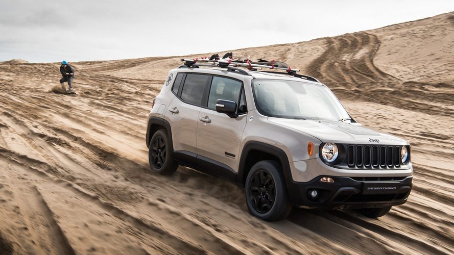 Limited edition Jeep Renegade Desert Hawk revealed