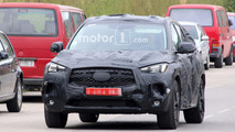 2018 Infiniti QX50 spy photos