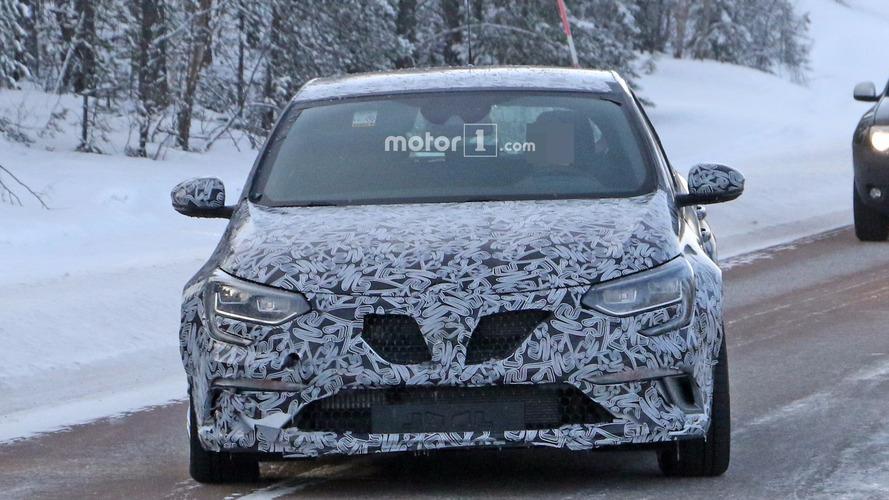 Renault Mégane RS 2017 fotos espía