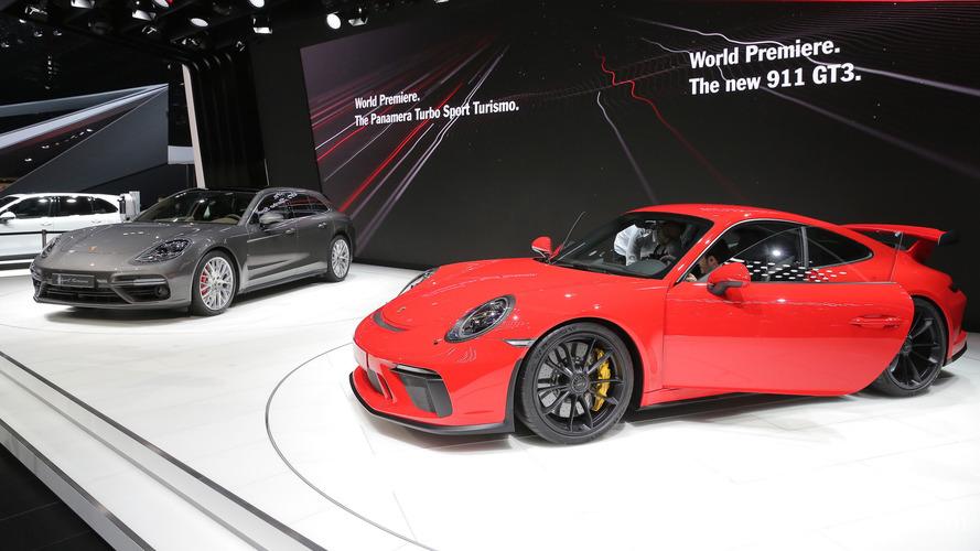 Genève 2017 - Retour à la boîte manuelle pour la Porsche 911 GT3 !