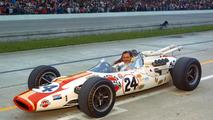 Graham Hill - En 1966, el británico compitió por primera vez en las 500 Millas de Indianápolis y ganó la carrera americana después de salir 23º. Durante las dos temporadas siguientes intentó repetir éxito, pero no lo logró.  Photo by: Indianapolis Motor Speedway