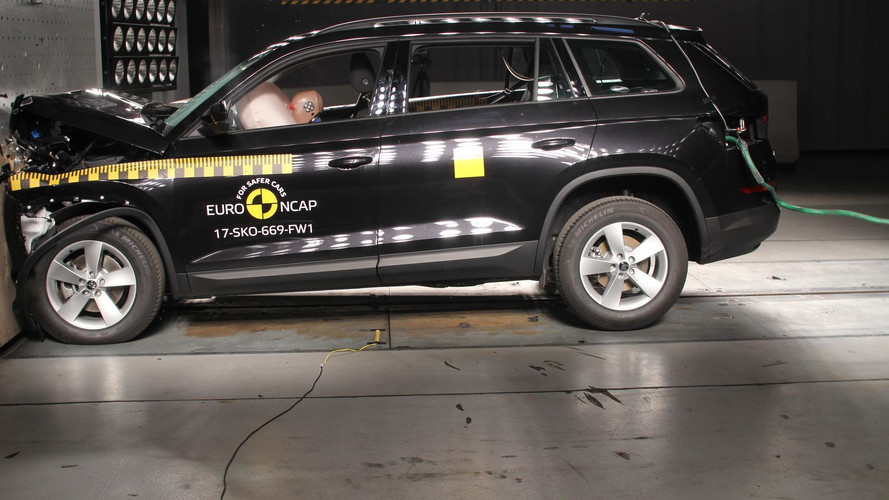Crash-test - Les Škoda Kodiaq et Mini Countryman décrochent 5 étoiles !