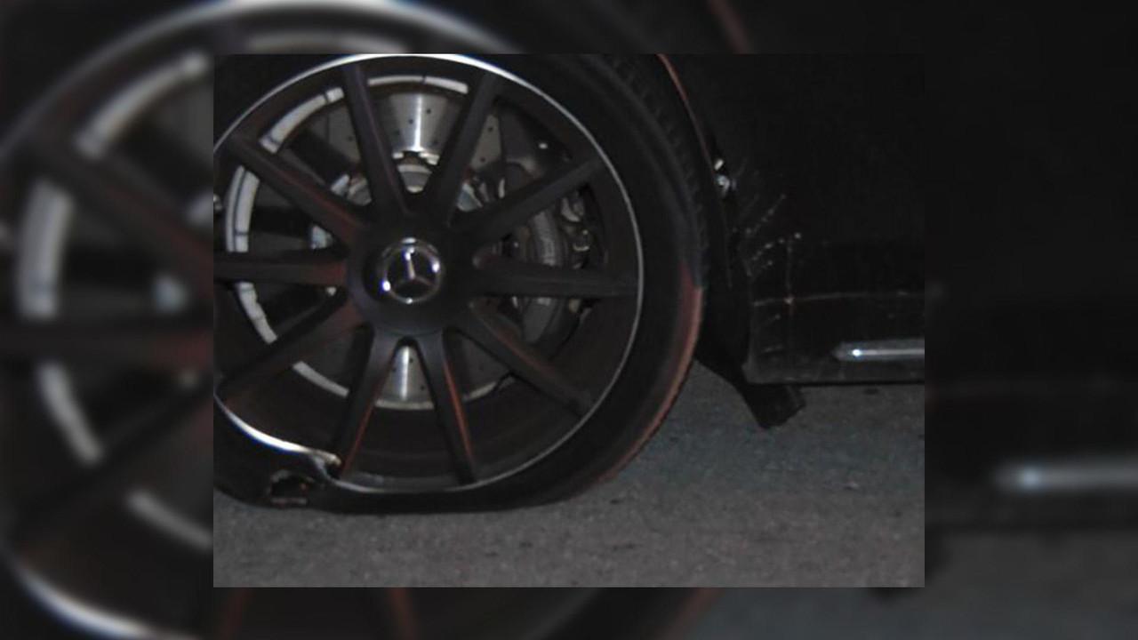 Tiger Woods Mercedes S65 AMG