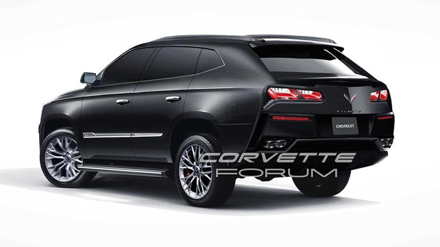 Chevy Corvette SUV tasarım yorumu
