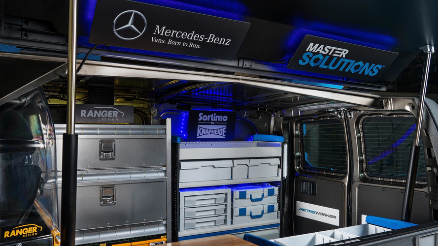 mercedes metris toolbox concept even has its own handle on top