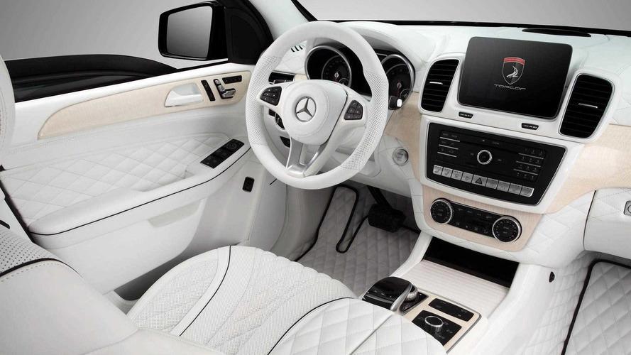 Bu Mercedes GLE'nin içi başka bir dünyadan gibi
