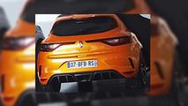 Renault Mégane RS 2017 fotos filtradas