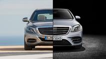 2014 versus 2018 Mercedes-Benz S-Class