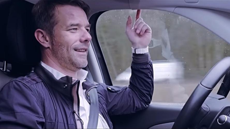Sébastien Loeb prueba el Citroën Grand C4 Picasso autónomo