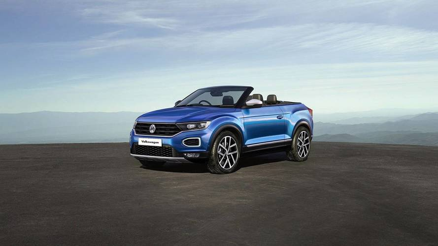 VW T-Roc Convertible and Coupe renders