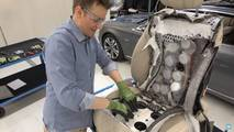 Mercedes-Benz S-Class Seat Dissected