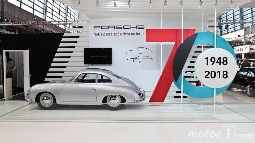 PHOTOS - Porsche au Salon Rétromobile 2018