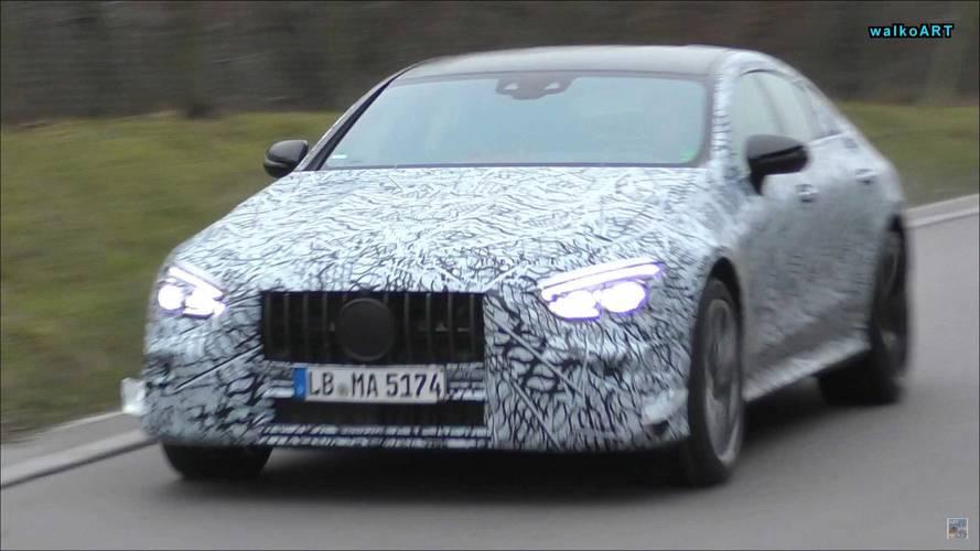 Mercedes-AMG GT Sedan casus fotoğraflar