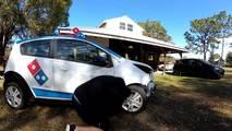 Domino's Pizza Chevy Spark DXP Car