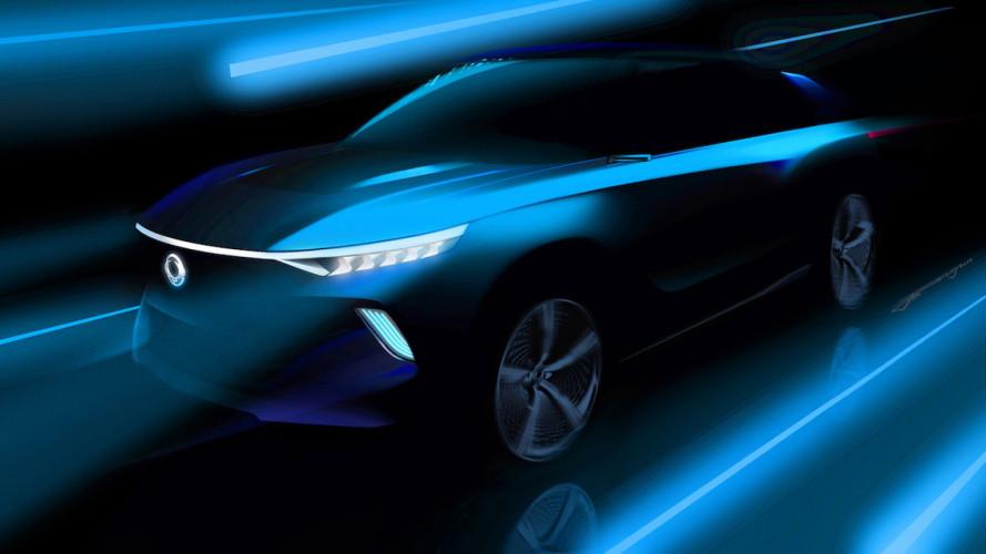 SsangYong E-Siv, prove di SUV elettrico a guida autonoma