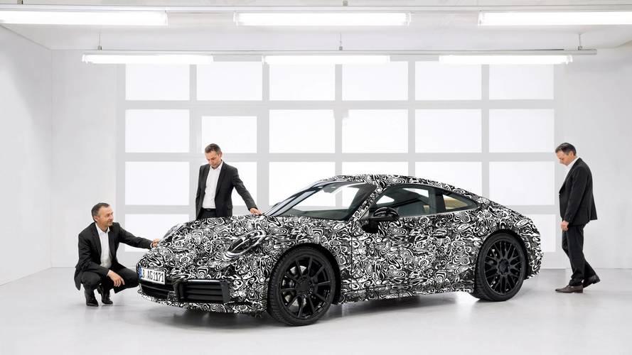 Porsche 911 2018 (992): primeras imágenes oficiales
