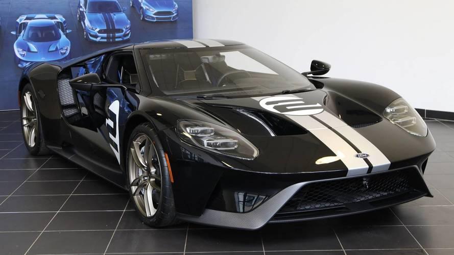 Ford France livre sa première GT à Anthony Beltoise