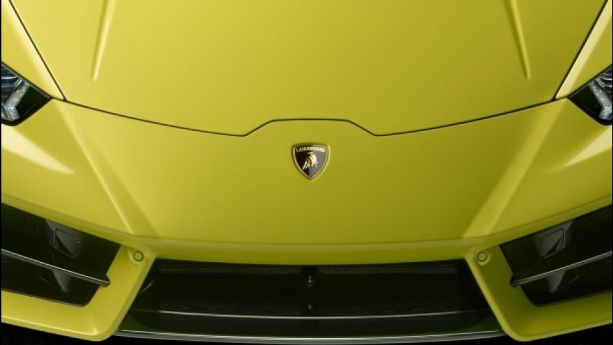 Lamborghini Huracan Performante, aerodinamica rivoluzionaria