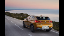 BMW X2, la prova