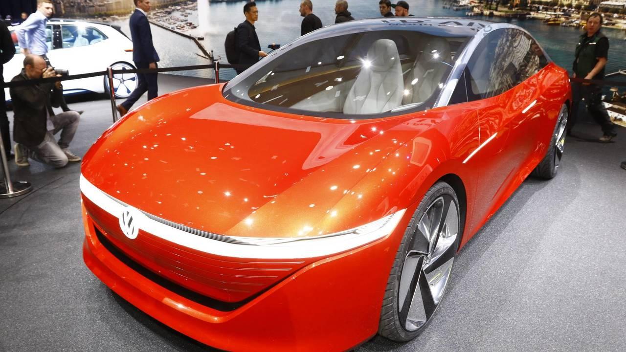 VW I.D. Vizzion 2018 Cenevre Otomobil Fuarı