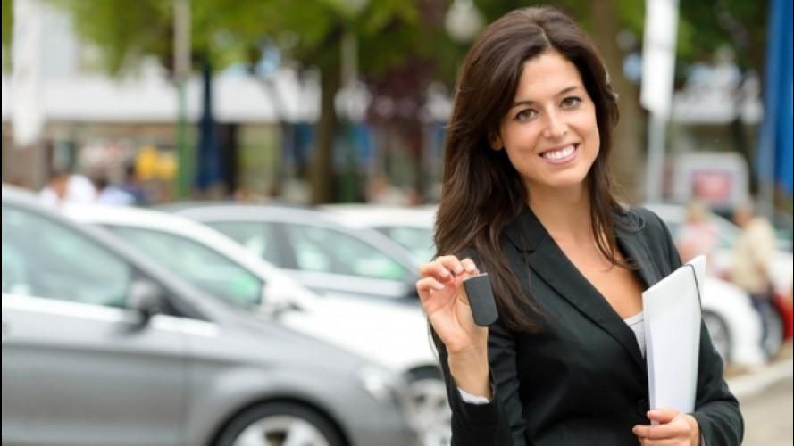 Mercato auto, cresce il business dei privati con partita IVA