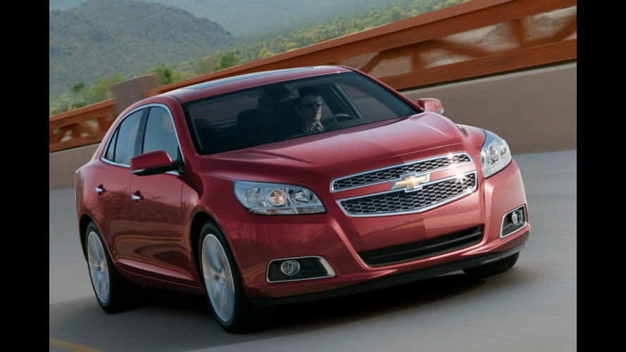 Svelato il frontale della Chevrolet Malibu Concept