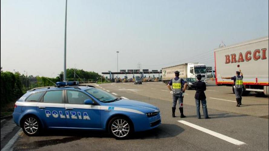 Intestazioni fittizie, maxi operazione della Polizia Stradale