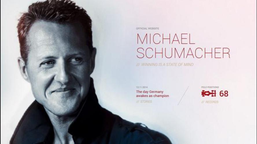 Schumacher, online il nuovo sito ufficiale