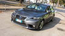 Lexus IS Hybrid Luxury, test di consumo reale Roma-Forlì