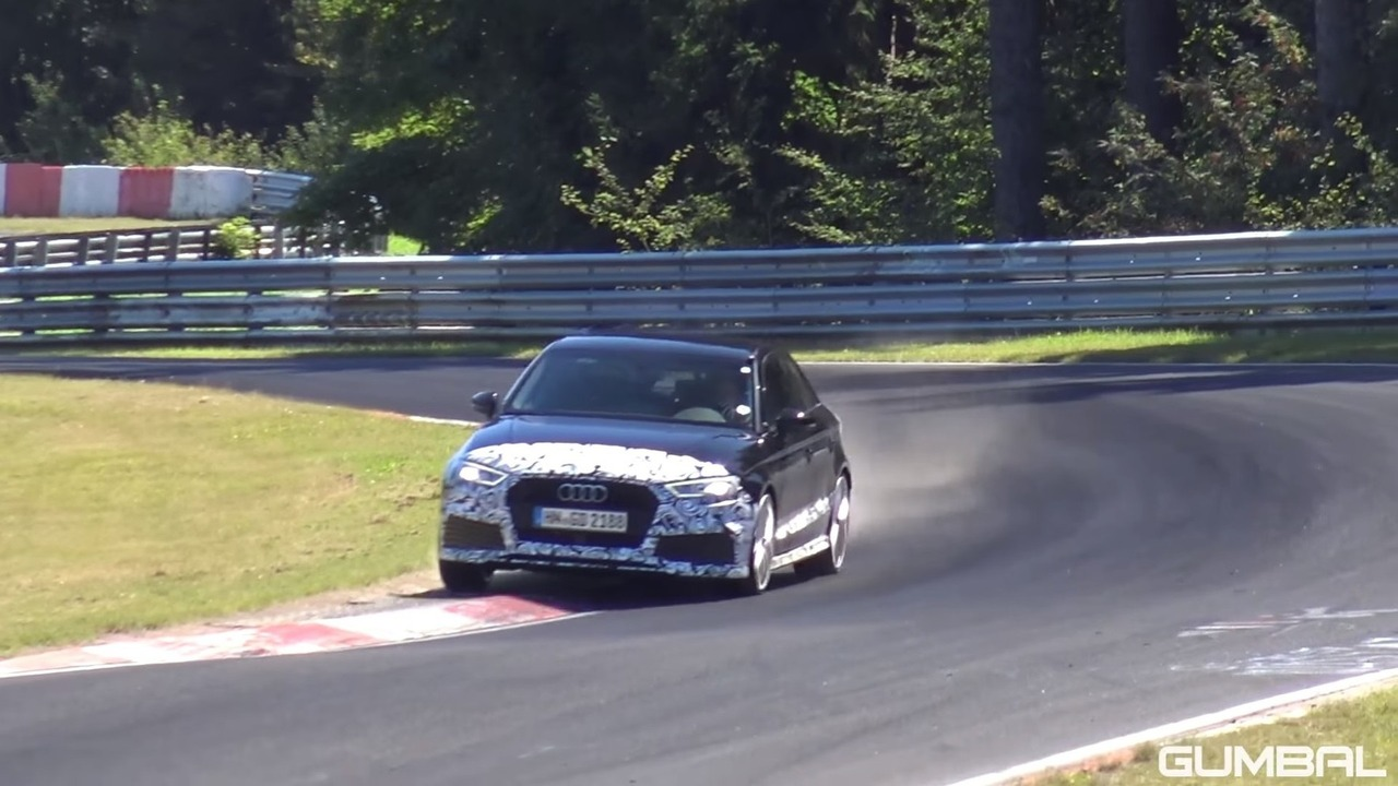 Audi RS3 Sedan at the Nurburgring
