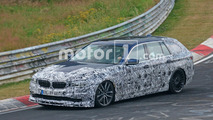 Alpina B5 Touring Spy Shots