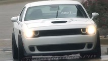 Dodge Challenger ADR Widebody Spy Shots