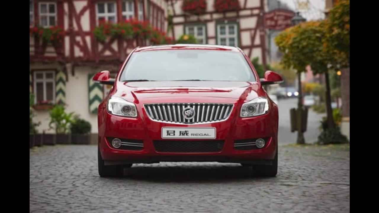 Opel Insignia será vendido nos EUA como Buick Regal a partir de 2010