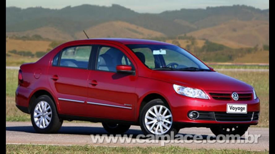 Novo Voyage 2009 - Motor 1.6 faz 18,5 km/l na estrada segundo a Volkswagen