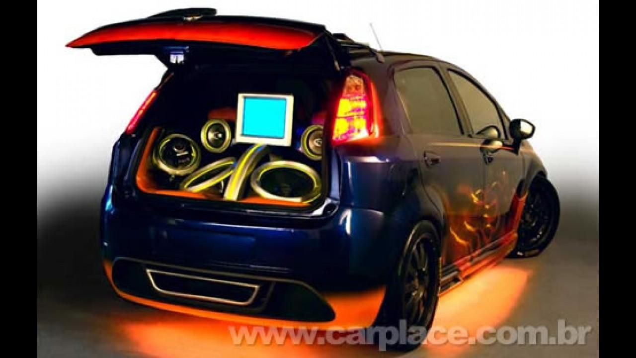 """Fiat Punto Icaro é o primeiro carro """"Hot Wheels"""" feito em escala real do Brasil"""