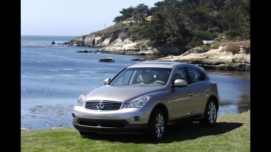 Nissan Around View Monitor debutta sull'Infiniti EX35