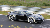 New Porsche 911 version spy photo 08.08.2013