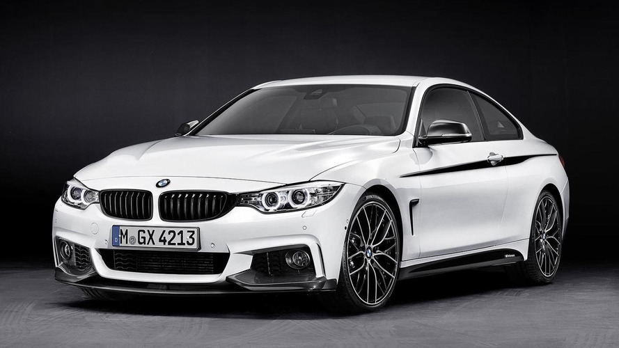 2014 BMW 4-Series with M Performance parts revealed [VIDEO AND LIVE PHOTOS ADDED]