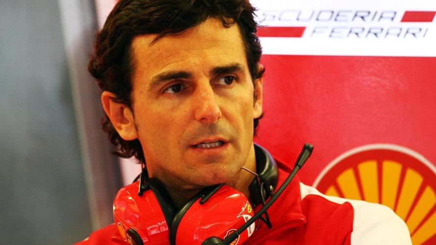 Ferrari reserve de la Rosa recovering from flu