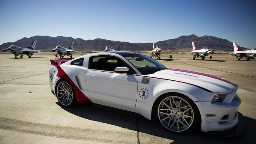 2014 Ford Mustang U.S. Air Force Thunderbirds Edition revealed for EAA AirVenture