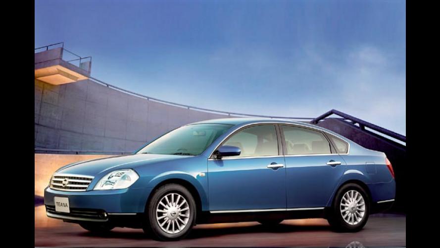 Nissan Teana: Luxuslimousine mit 245 PS für China