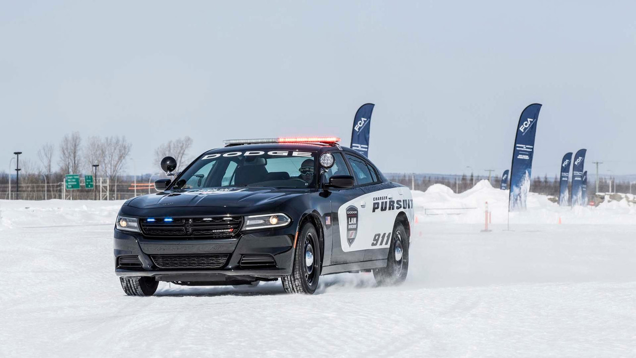 2018 Dodge Charger Pursuit