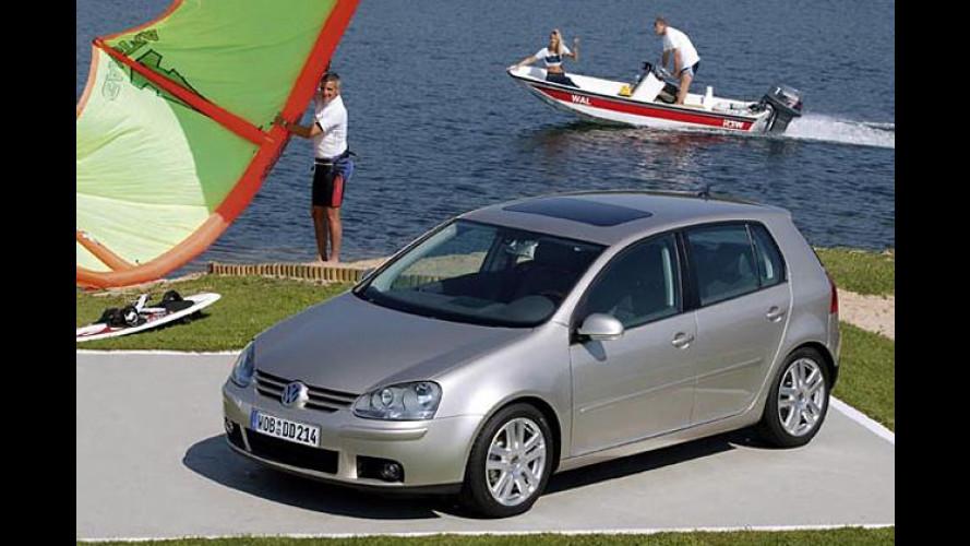 30 Jahre VW Golf: Klimaanlage bis September 2004 gratis