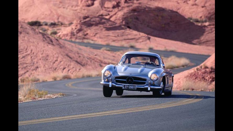 Mercedes 300 SL: Geflügelte Legende wird 50 Jahre alt