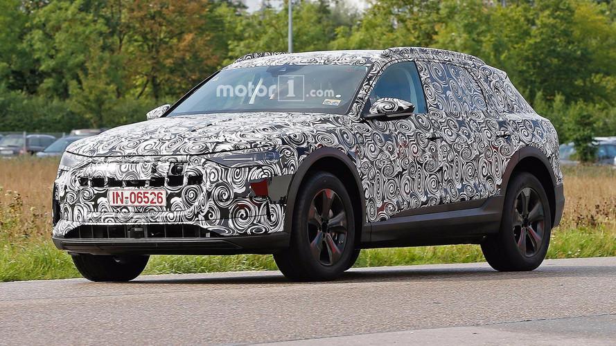 Audi E-Tron Quattro sensörleriyle objektiflere yakalandı