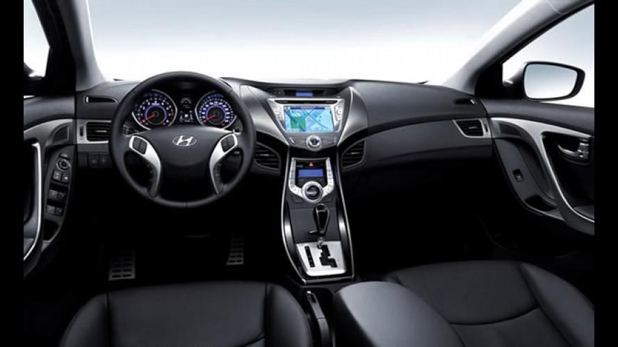 Hyundai divulga primeira imagem do interior do Novo Elantra (Avante)